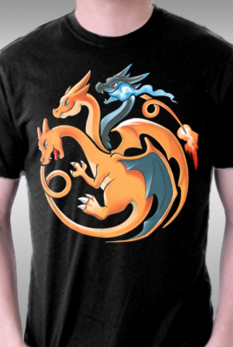 TeeFury: Fire, Flying and Dragon