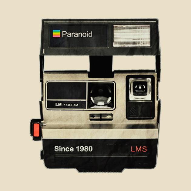 TeePublic: 80s Paranoid Polaroid V1