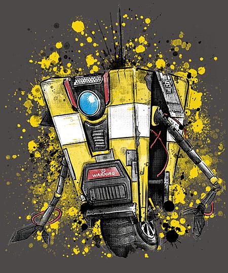 Qwertee: CL4P-TP Robot