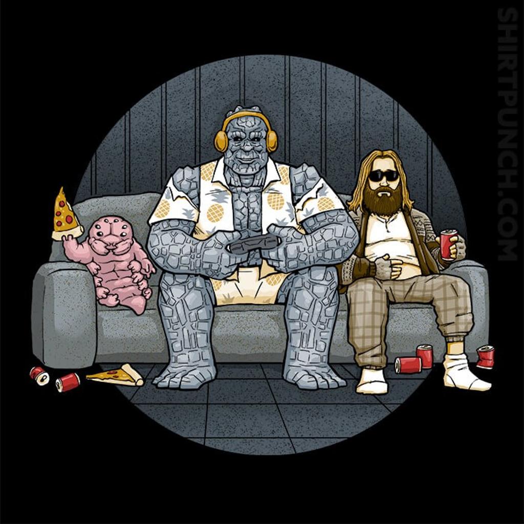 ShirtPunch: Lazy Heroes