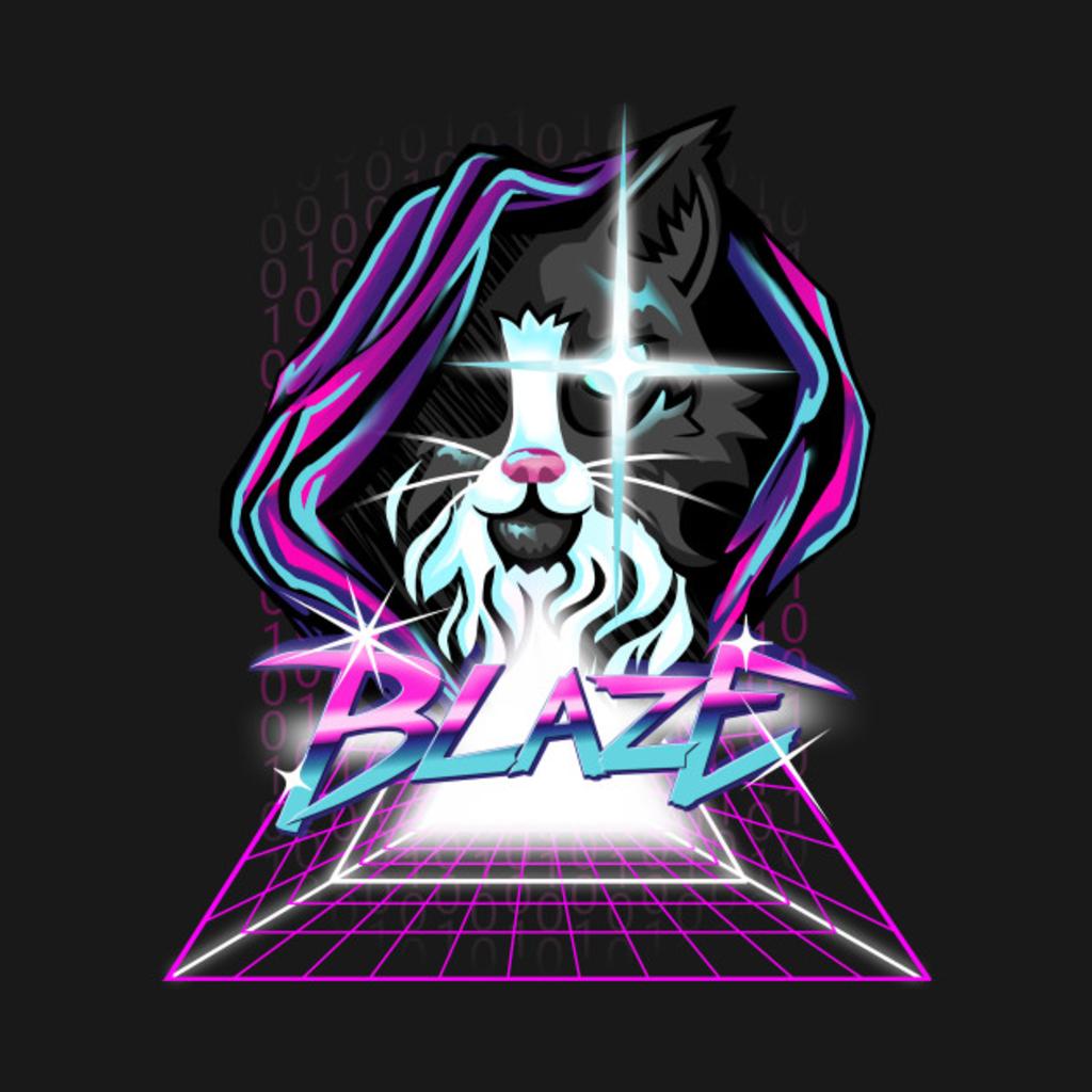 TeePublic: Hacker Cat