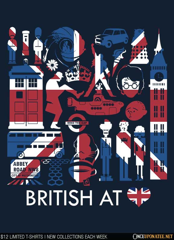 Once Upon a Tee: British at Heart