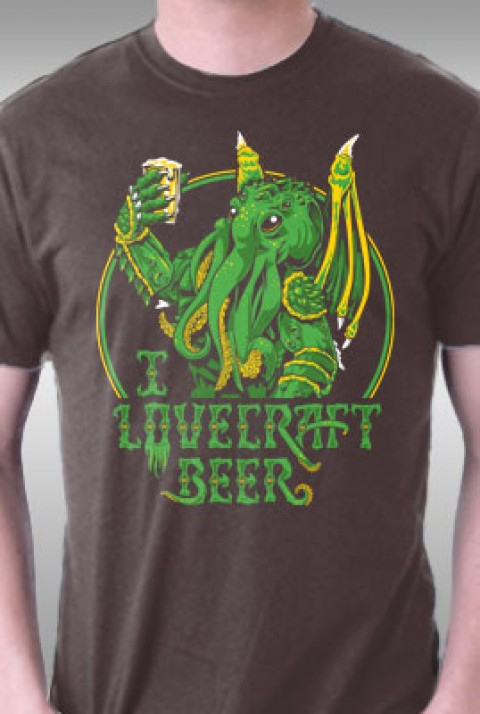 TeeFury: I Lovecraft Beer