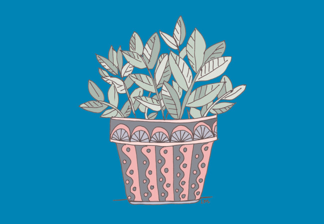 Design by Humans: Potted Plant