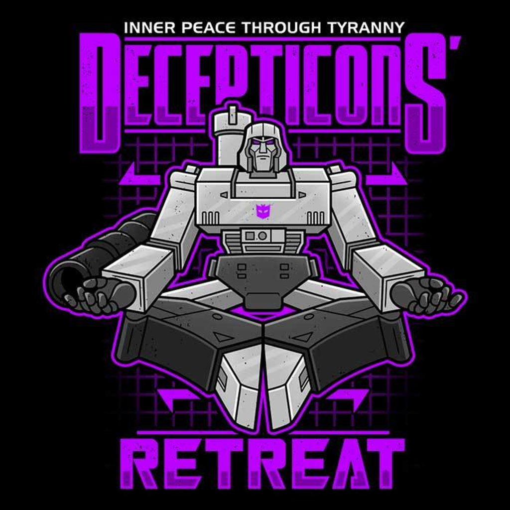 Once Upon a Tee: Decepticons Retreat