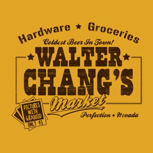 Five Finger Tees: Walter Chang's Market T-Shirt