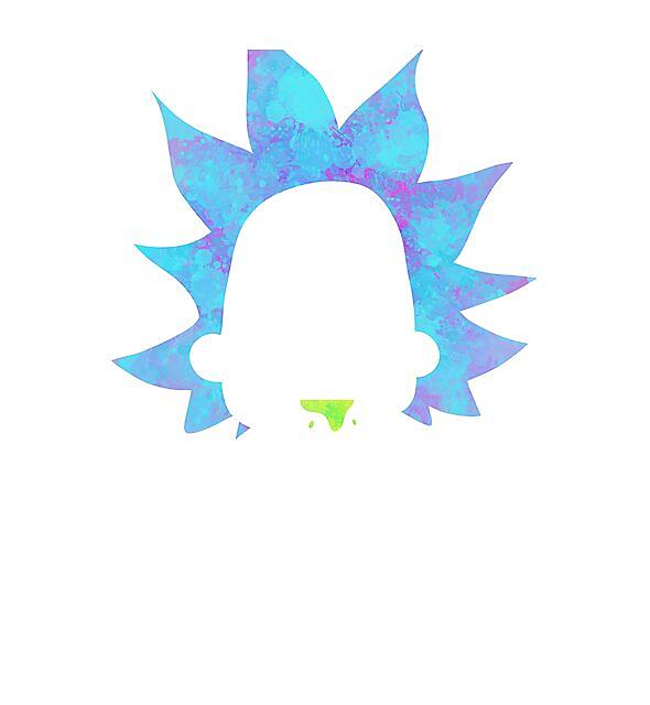 RedBubble: Rick Sanchez silhouette