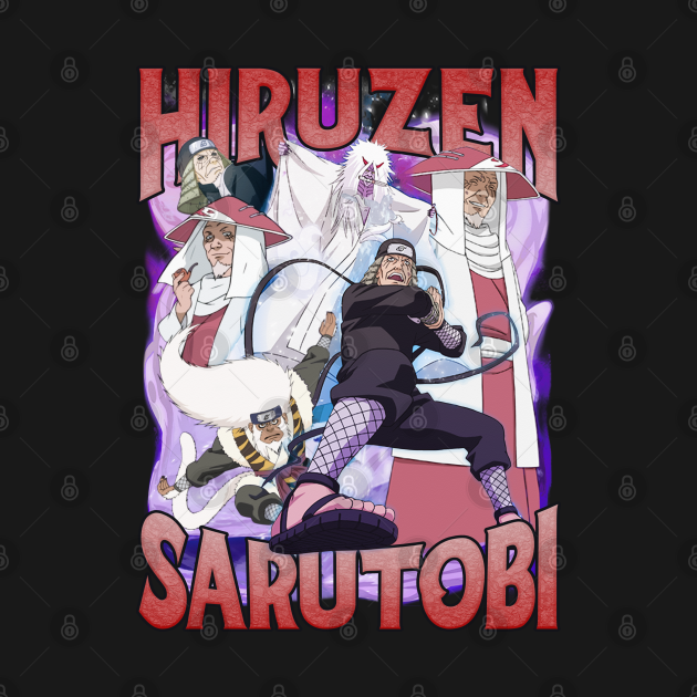 TeePublic: NARUTO HIRUZEN SARUTOBI BOOTLEG VOL. 1