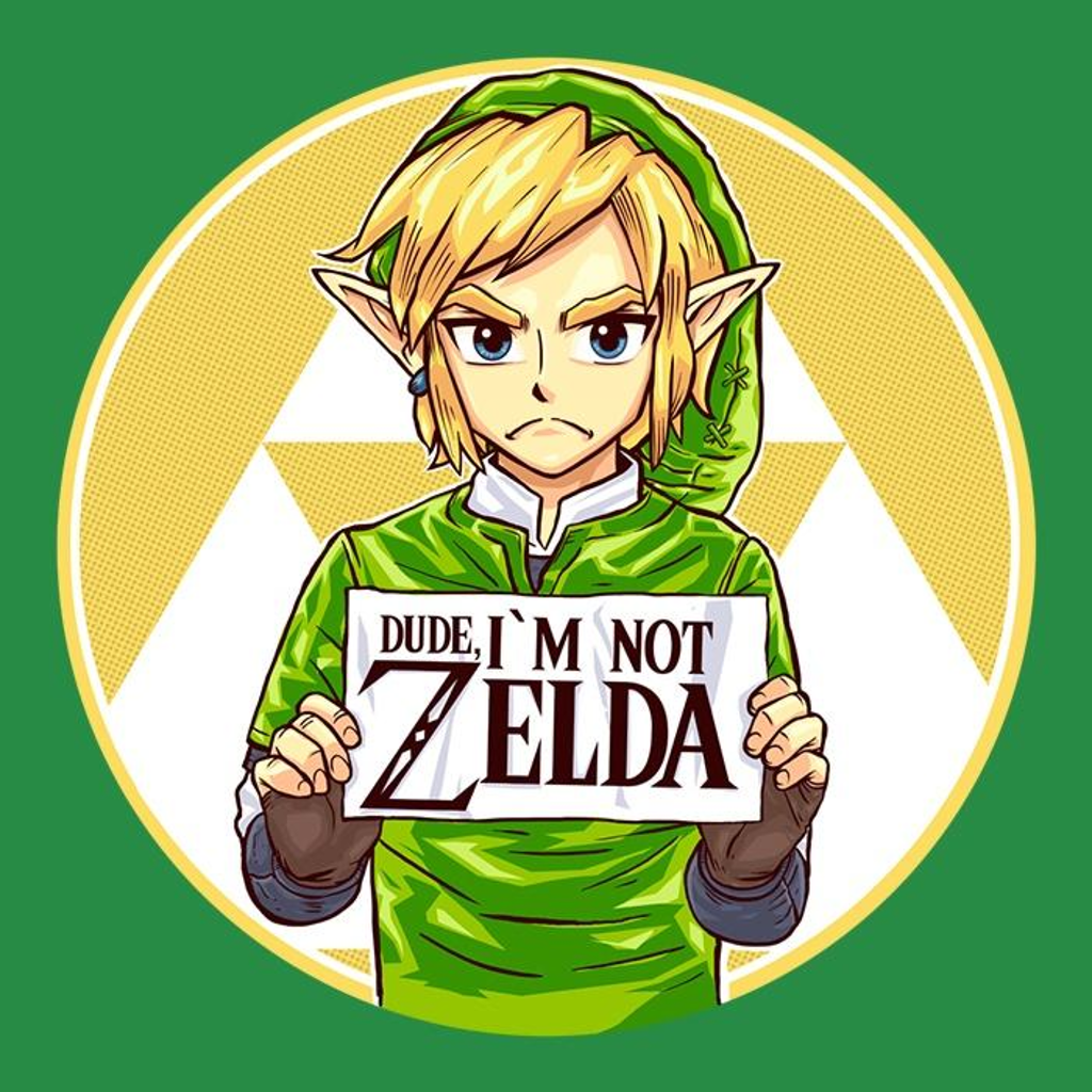 Once Upon a Tee: Dude, I'm Not Zelda