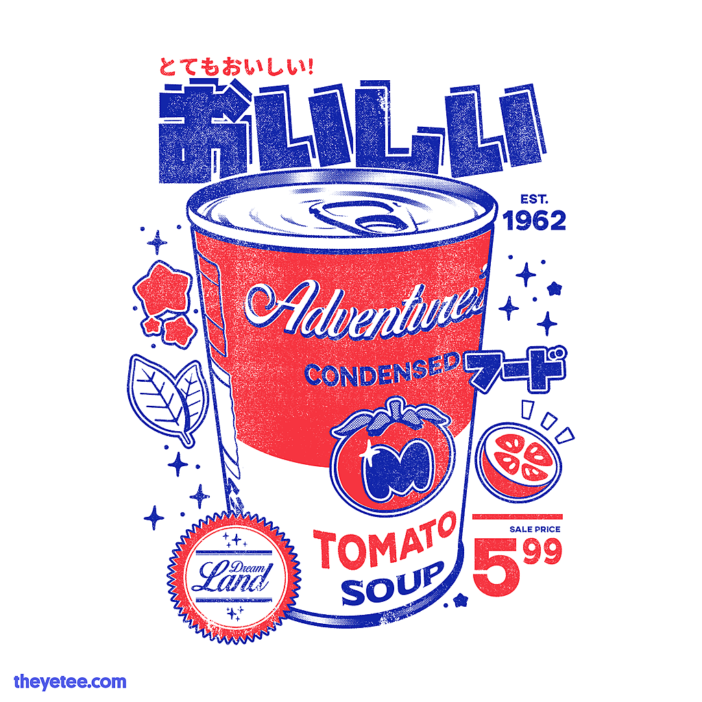 The Yetee: Tomato soup
