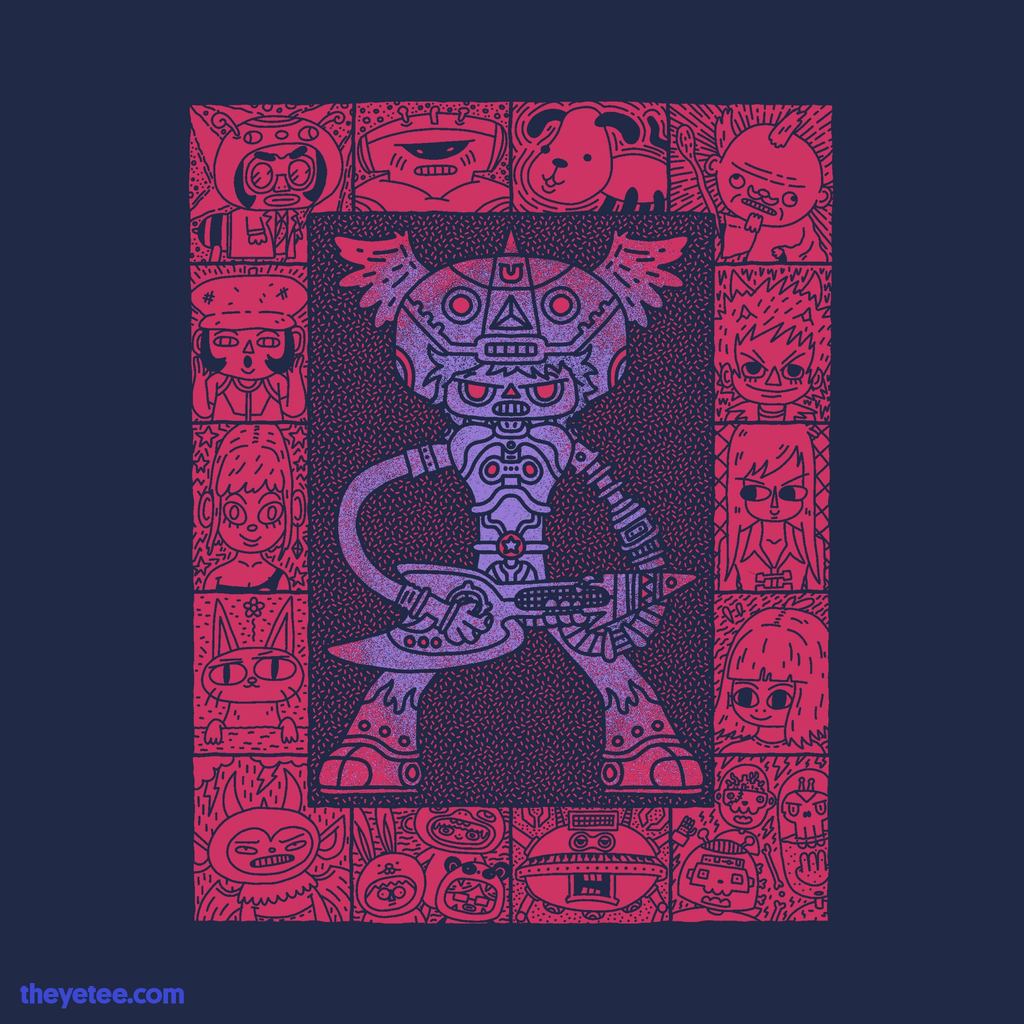 The Yetee: Go For Their Weak Spots