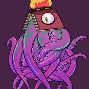 RedBubble: Booktopus
