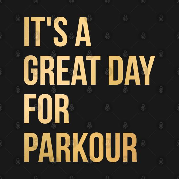 TeePublic: Parkour