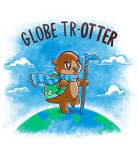 Qwertee: Globe TrOTTER