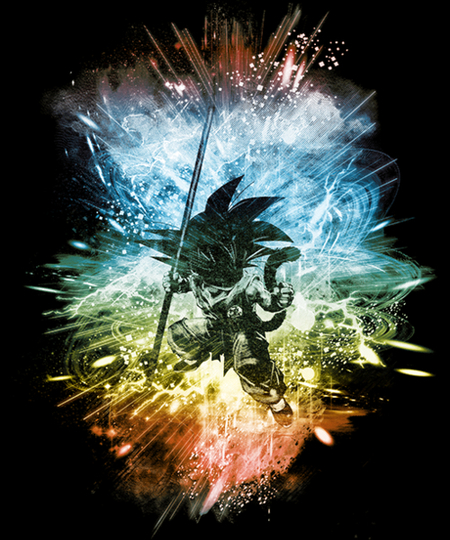 Qwertee: dragon ball storm