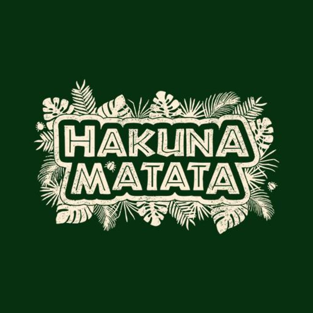 Five Finger Tees: Hakuna Matata T-Shirt