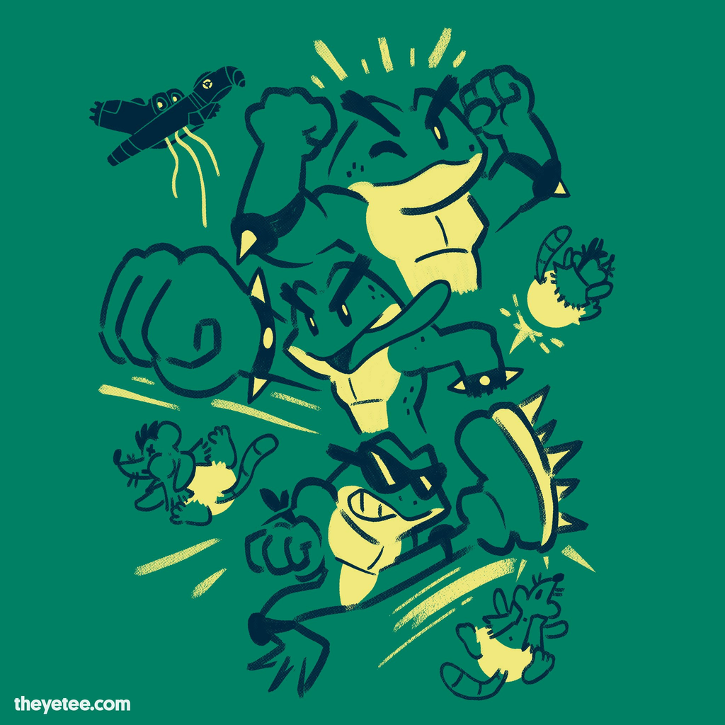 The Yetee: Neo Space Frogs