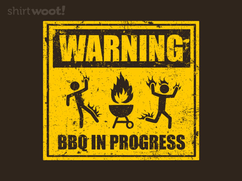 Woot!: Warning: BBQ in Progress