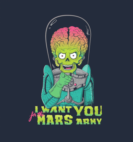 BustedTees: Mars Recruitment