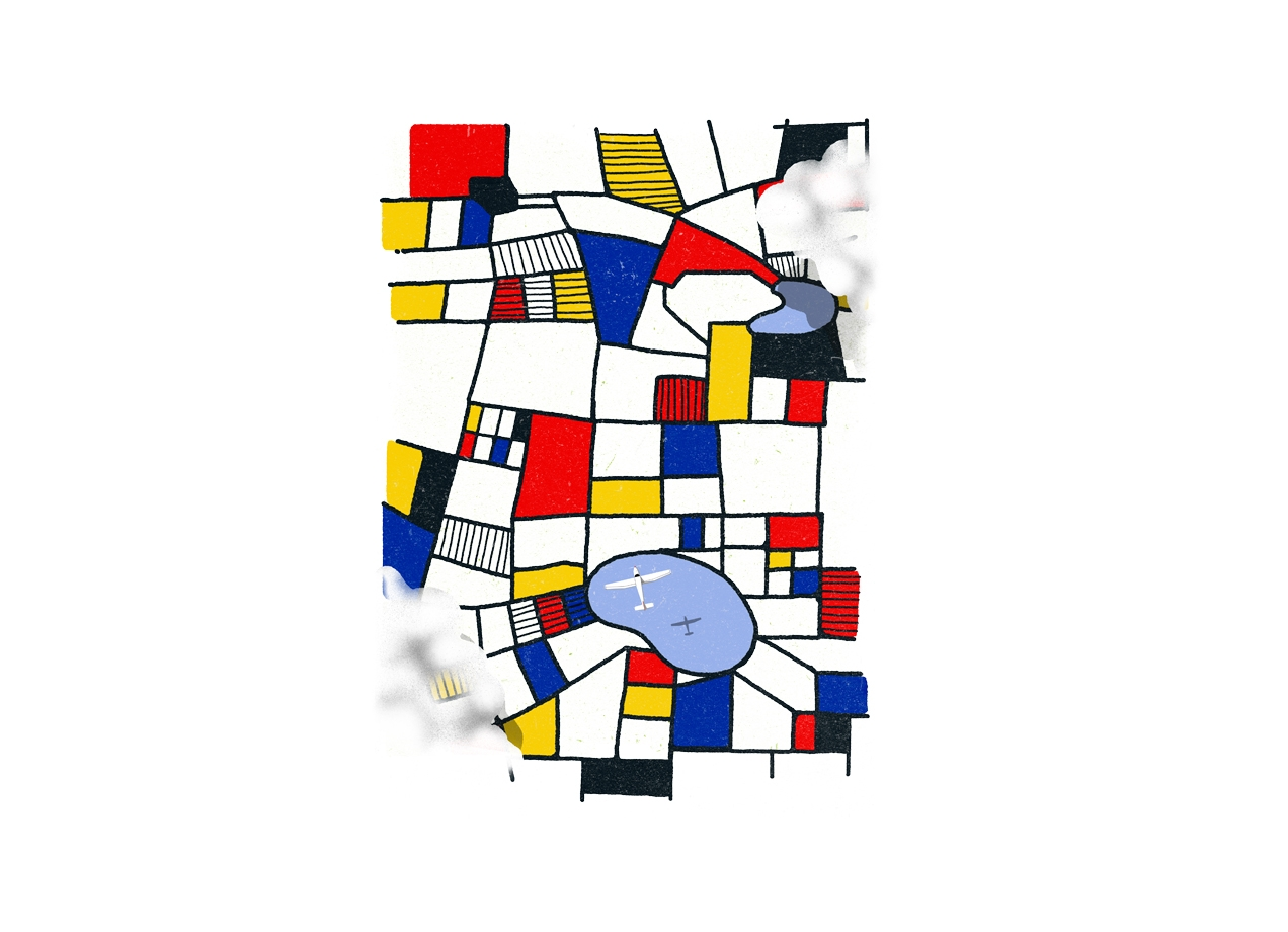 Threadless: les champs de mondrian