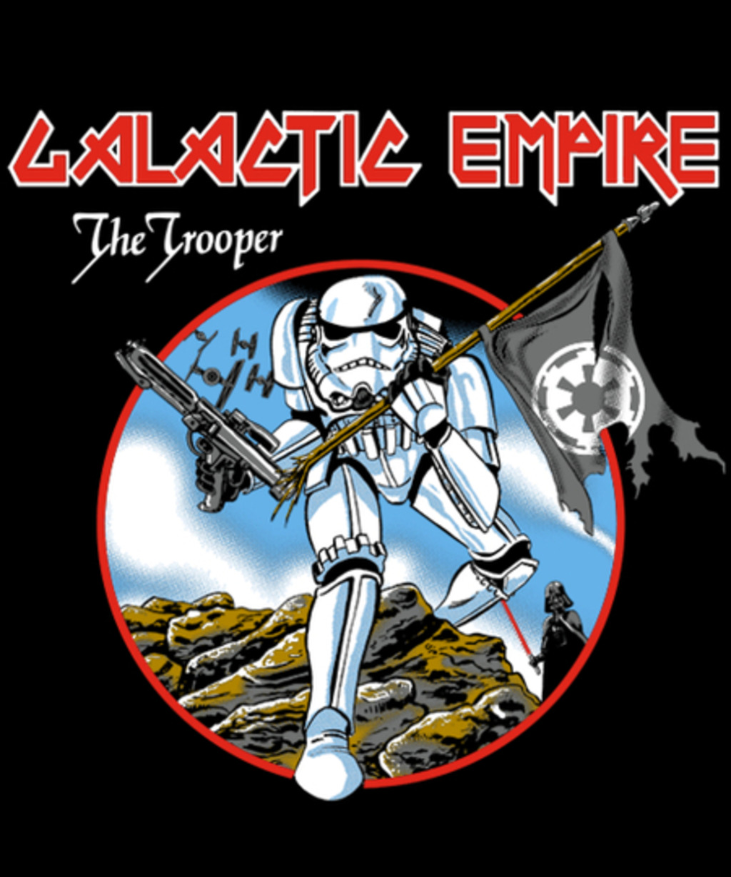 Qwertee: The Trooper