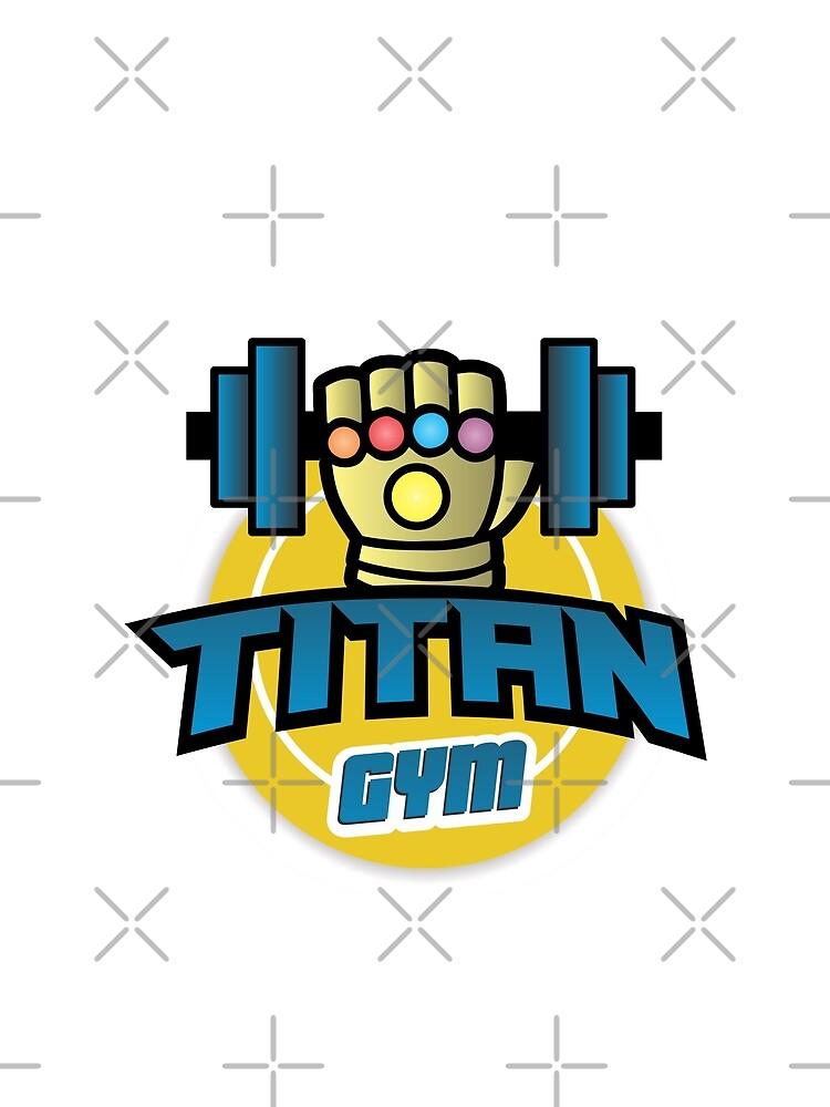 RedBubble: TITAN GYM