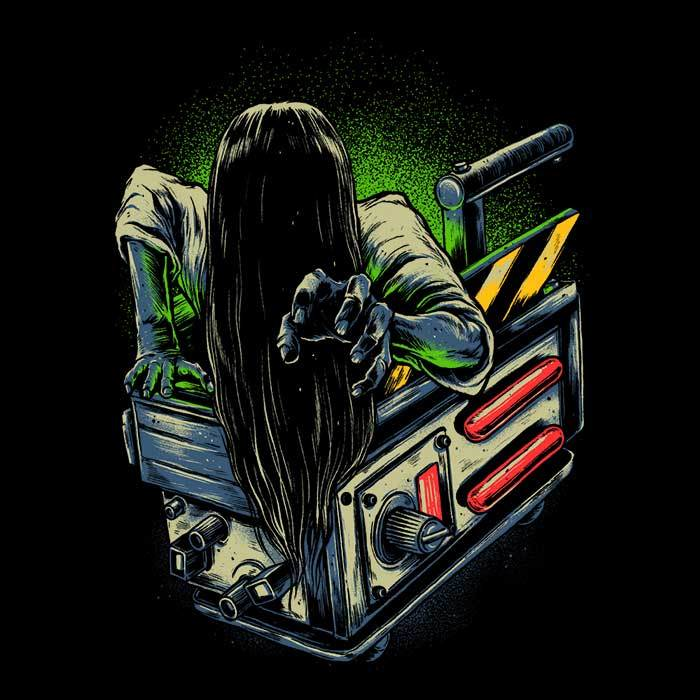 Once Upon a Tee: Trapped Ghost