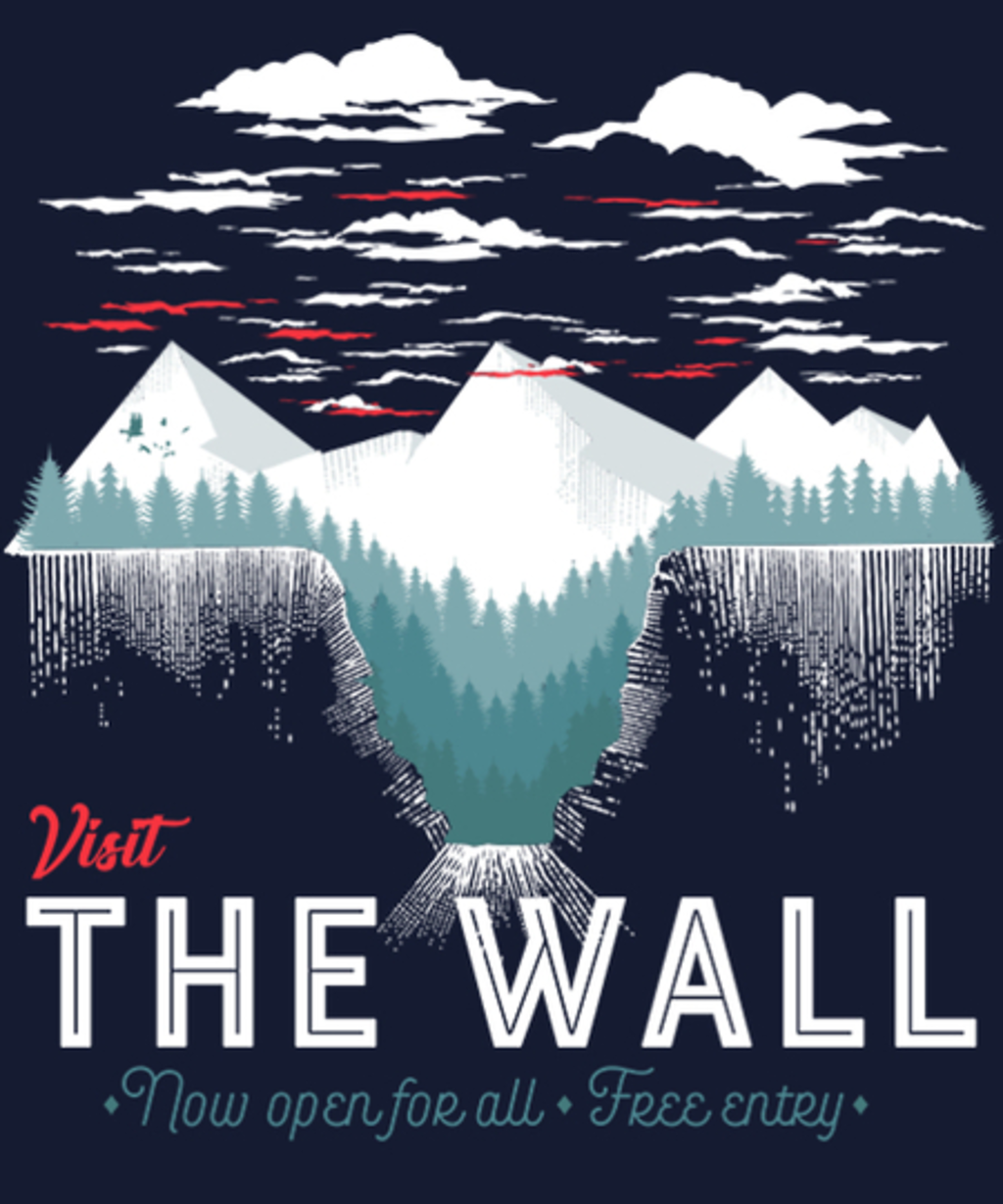 Qwertee: Visit The Wall
