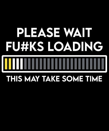 Qwertee: Please Wait F's Loading