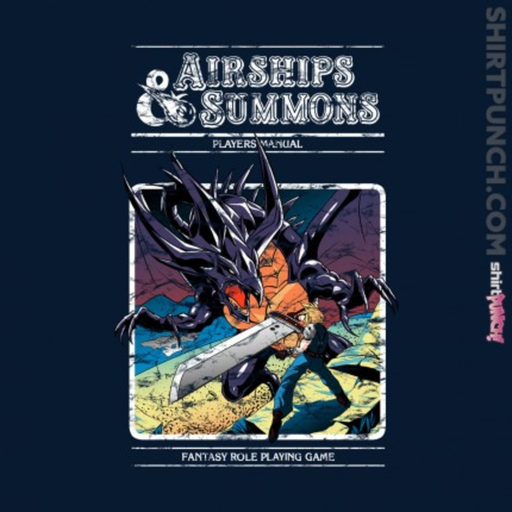 ShirtPunch: Airships and Summons