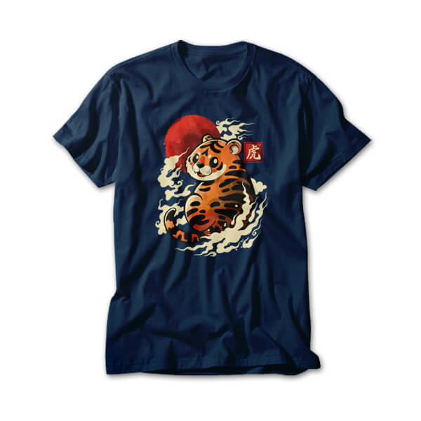OtherTees: Tiger red sun