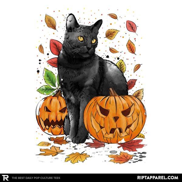 Ript: Cat Leaves and Pumpkins