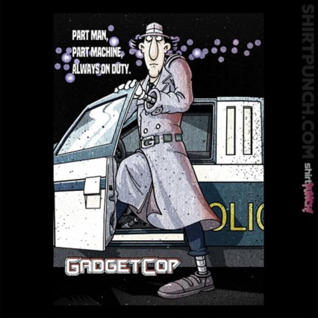 ShirtPunch: Gadget Cop