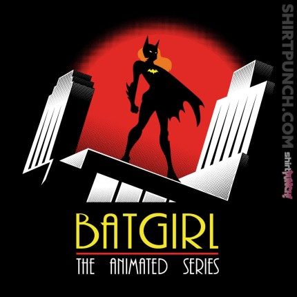 ShirtPunch: Batgirl The Animated Series
