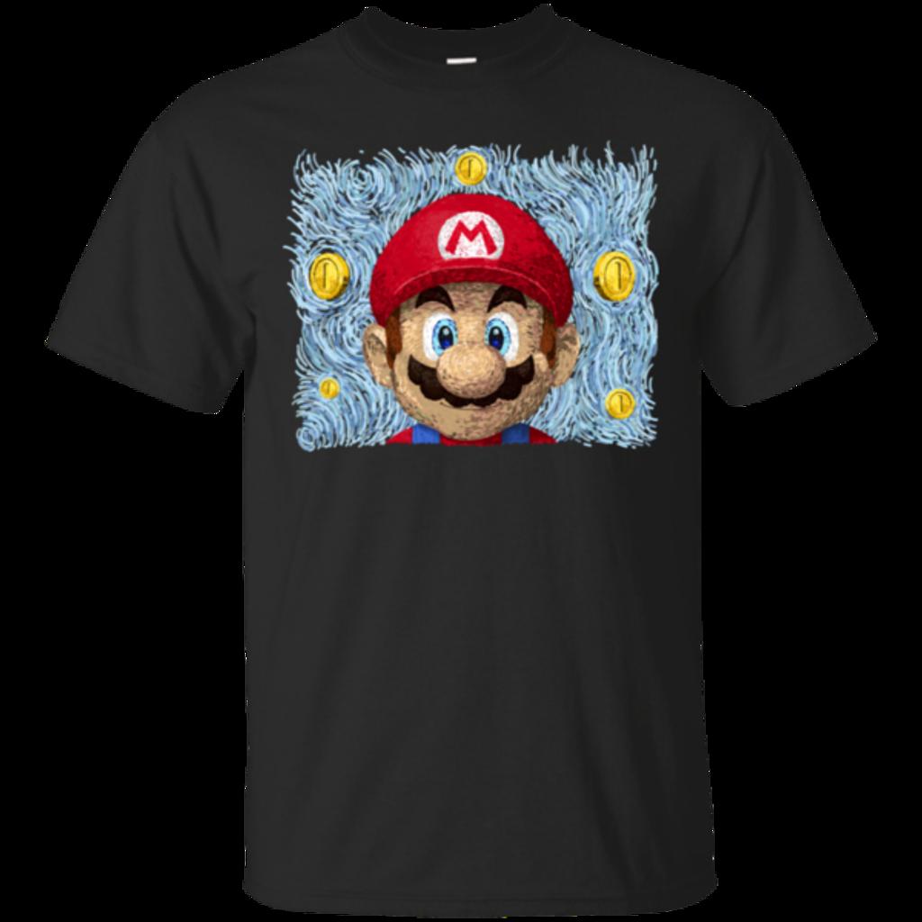 Pop-Up Tee: Mario Van Bros
