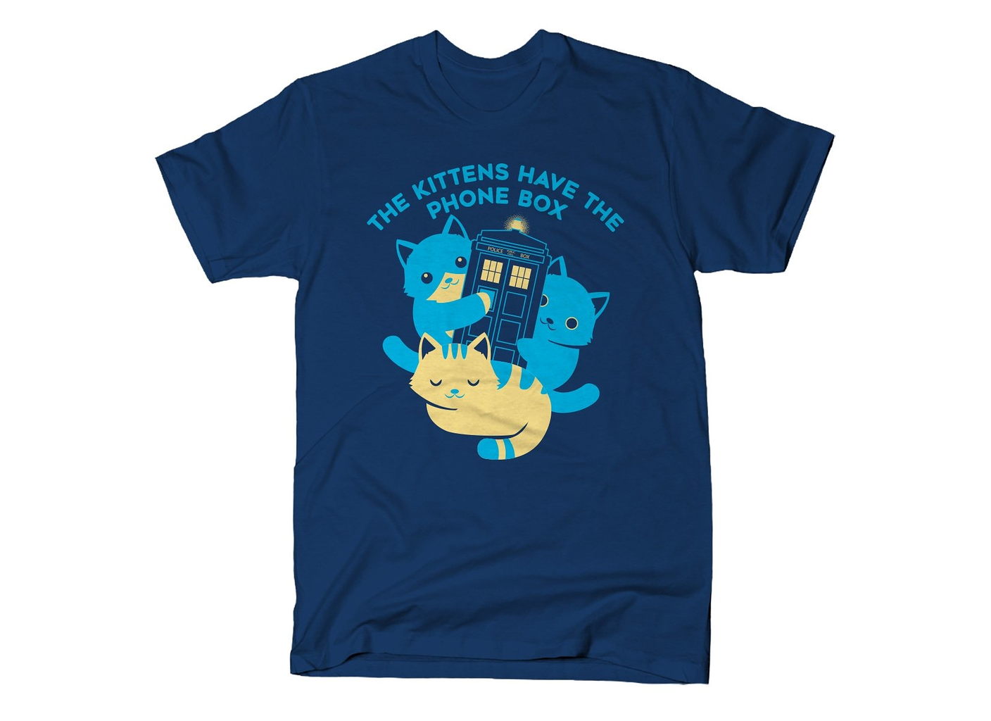 SnorgTees: The Kittens Have The Phone Box