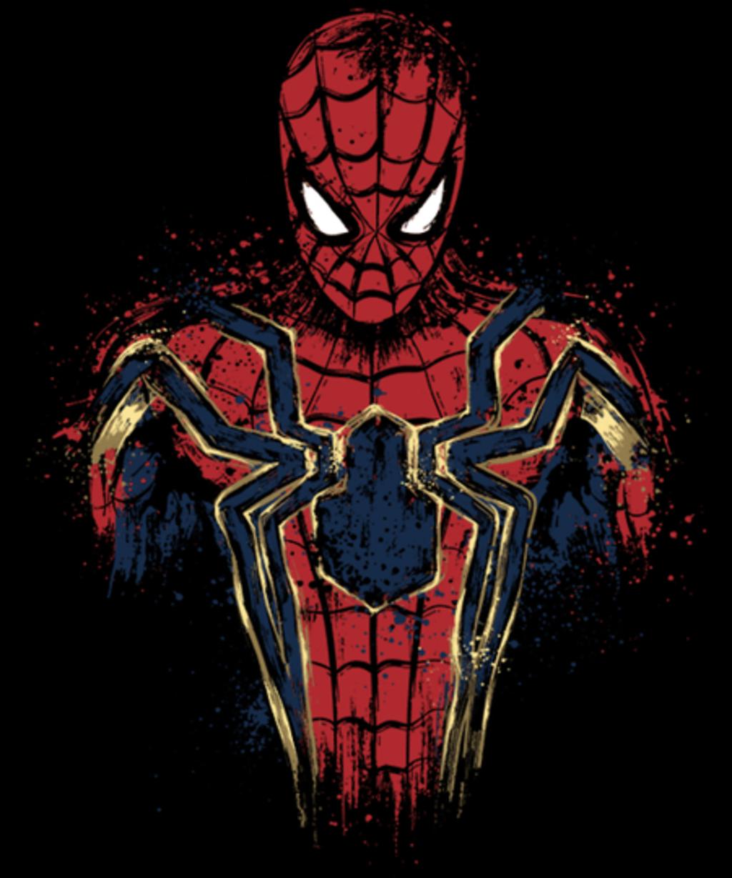 Qwertee: Infinity Spider