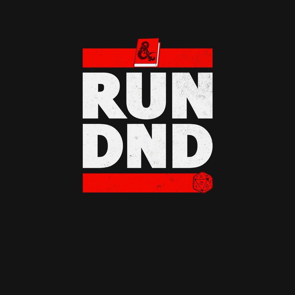 TeeFury: Run DND