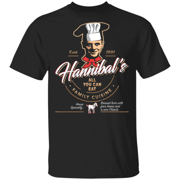 Pop-Up Tee: Hannibals Bistro