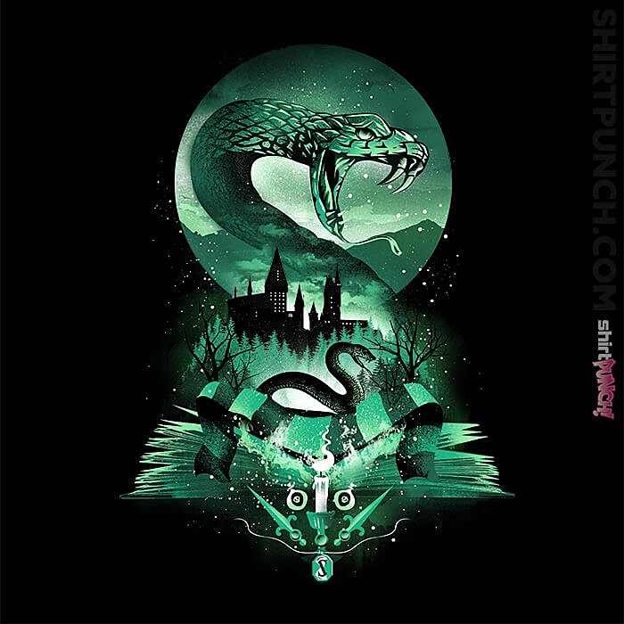 ShirtPunch: House Of Slytherin