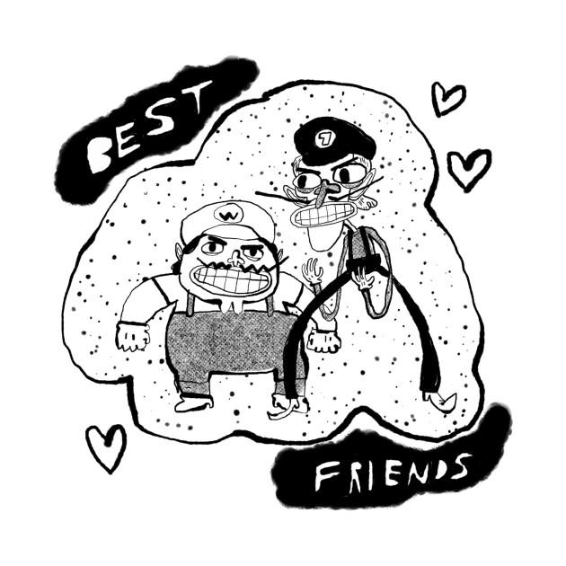 TeePublic: Best Friends