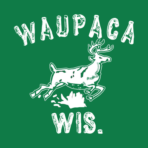 TeePublic: Original Stranger Things WAUPACA WIS. - Dustin's shirt