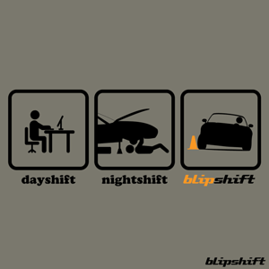 blipshift: Work Hard Shift Hard