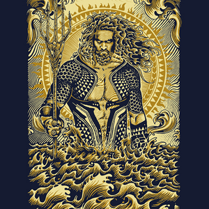 Qwertee: power of the sea