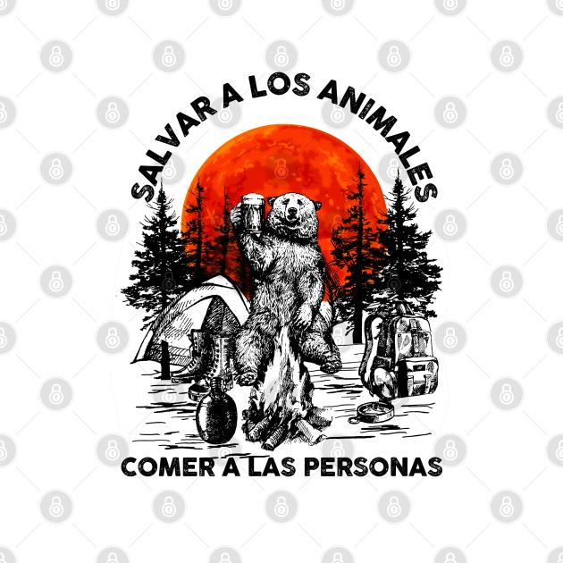 TeePublic: Salvar A Los Animales Comer A Las Personas
