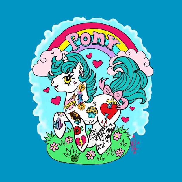 TeePublic: Tat Pony