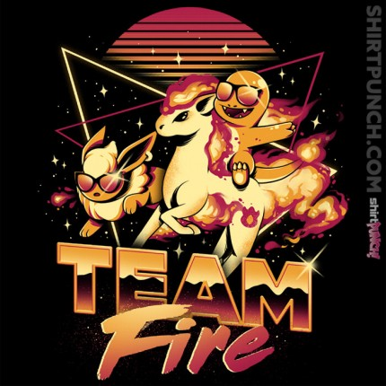 ShirtPunch: Fireteam