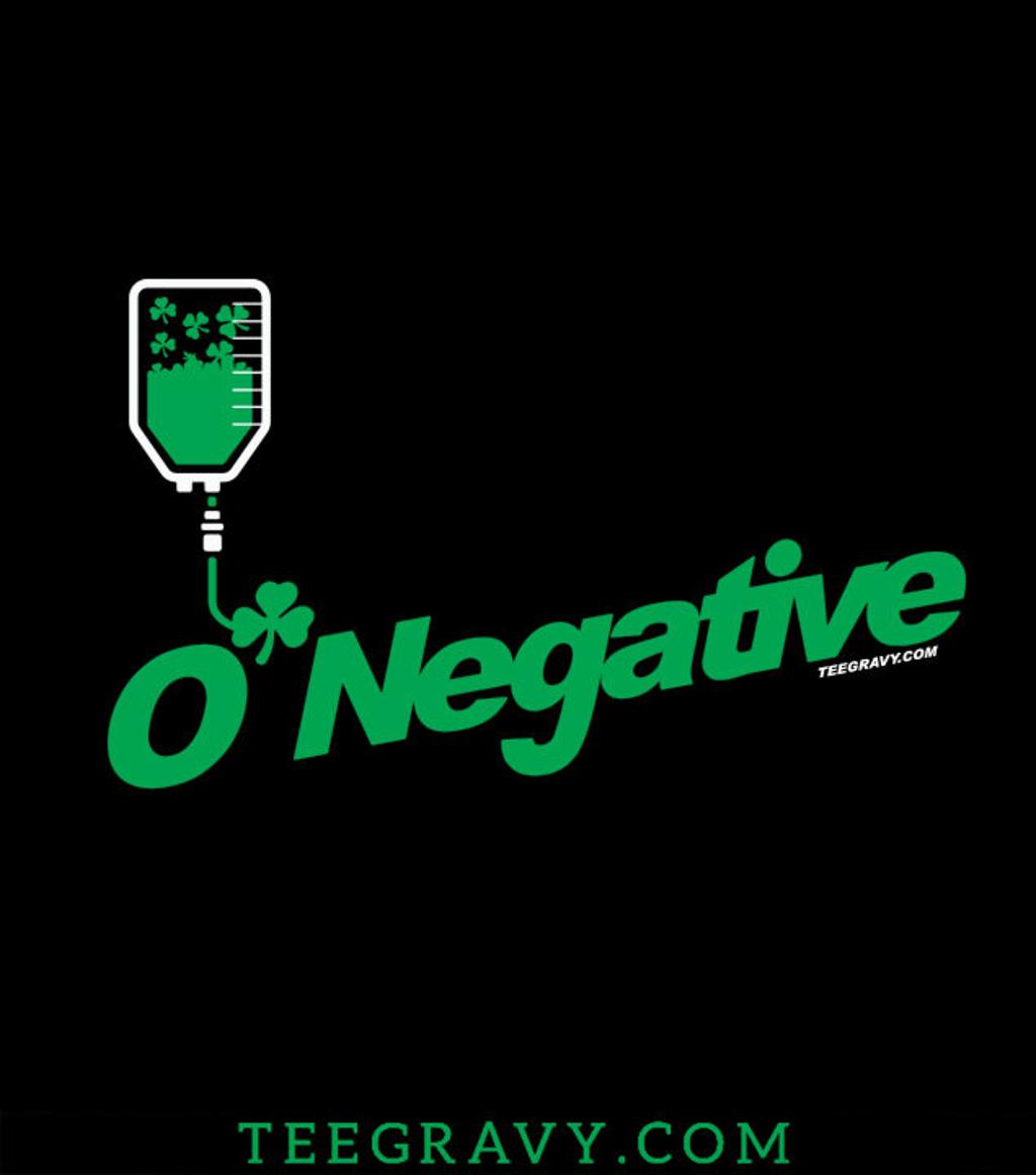Tee Gravy: O Negative