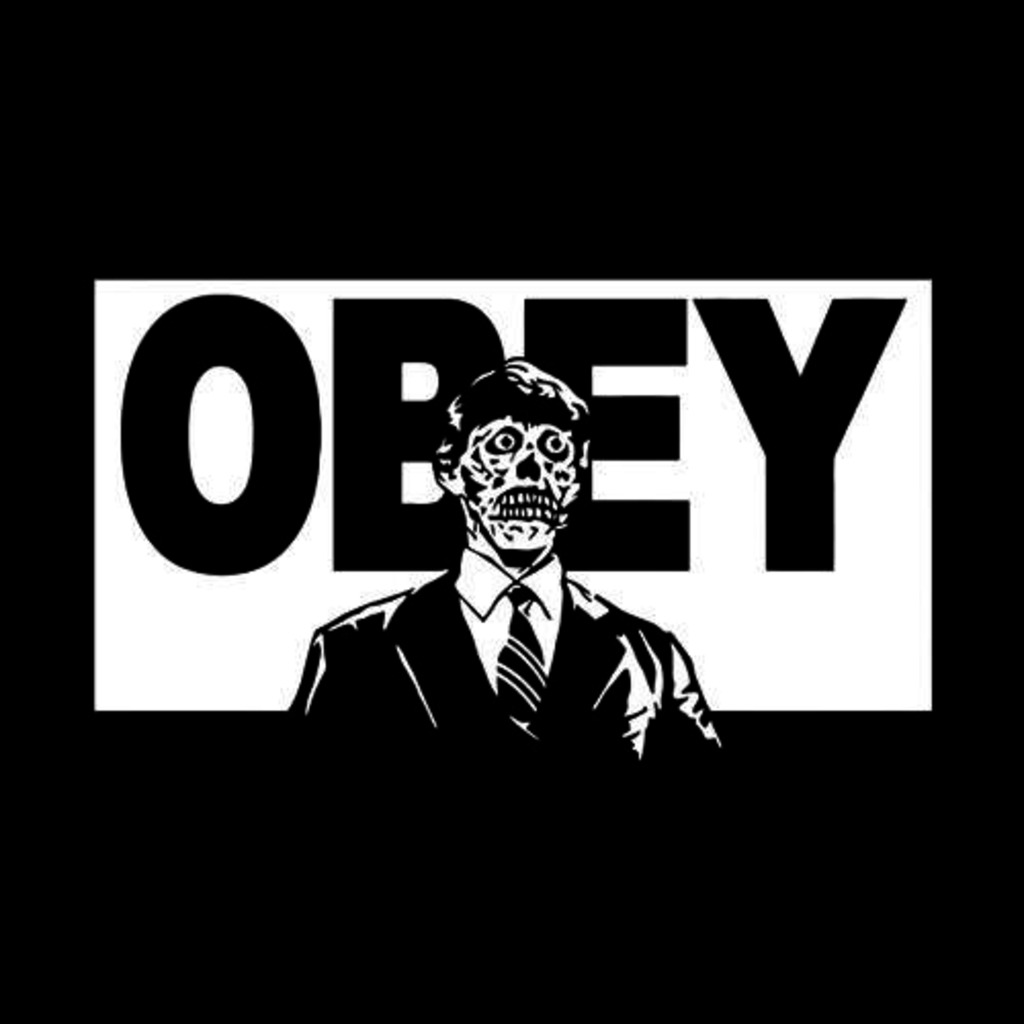 Five Finger Tees: They Live Obey T-Shirt
