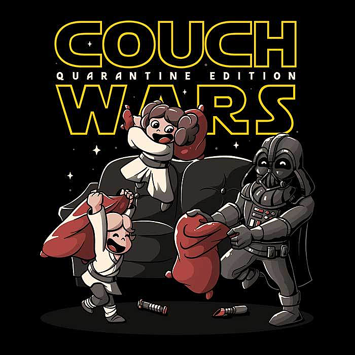 Once Upon a Tee: Couch Wars